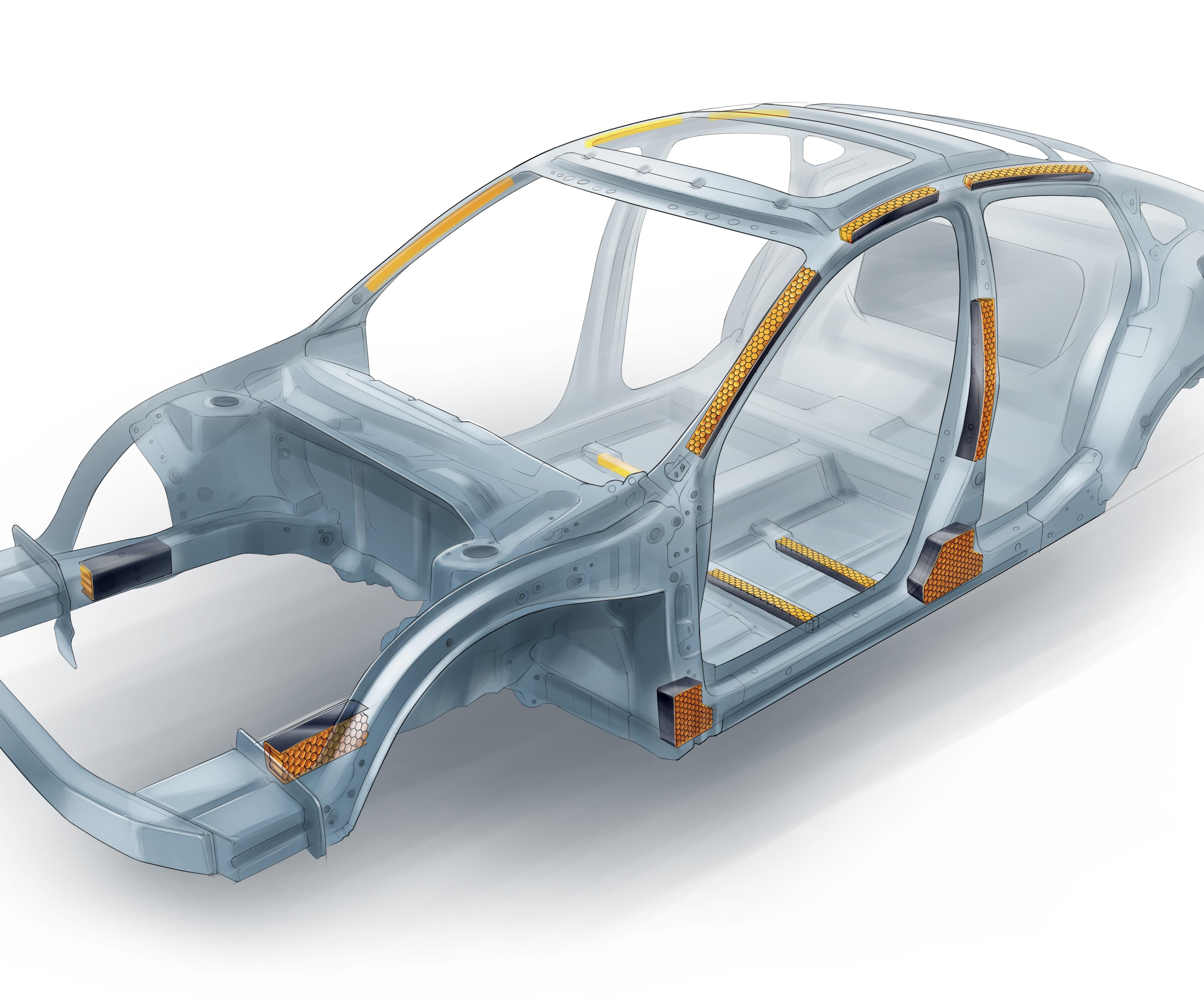 Material híbrido metal-plástico permite importantes reducciones de peso