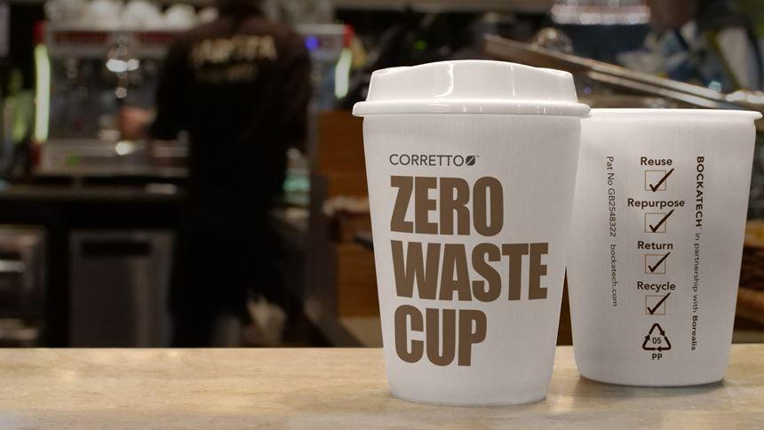 Vaso de café reciclable