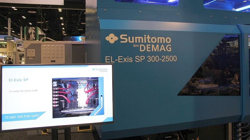 El-Exis SP 300 de Sumitomo Demag
