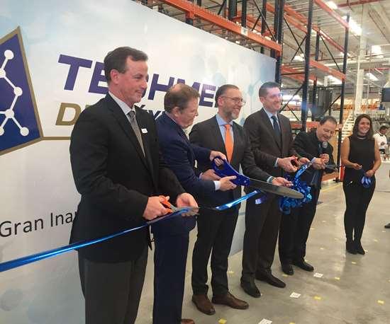 Gran ceremonia de inauguración de Techmer México.