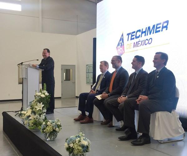 Ceremonia de inauguración Techmer México