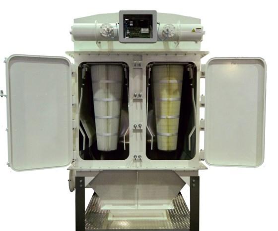 Filtro de cartucho vertical (VCF) para recolección de polvo