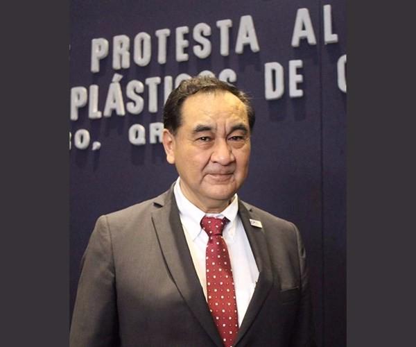 Venancio Pérez, presidente del Clúster de Plásticos de Querétaro.