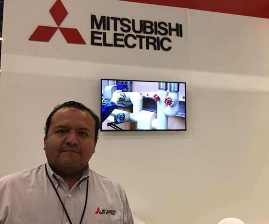 Víctor Fuentes, director de ventas y marketing de Mitsubishi para México y América Latina.