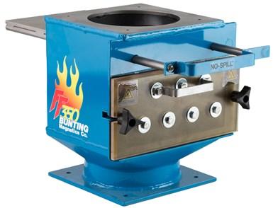 El Hi-Temp FF de Bunting Magnetics puede funcionar a temperaturas hasta de 175°C.