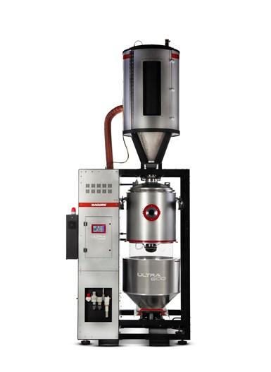 Maguire ha cambiado el nombre de su línea VBD de secadores de resina al vacío por uno nuevo - Ultra.