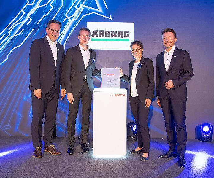El Grupo Bosch lleva trabajando con Arburg desde 1958.
