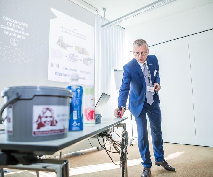 Manfred Hackl, CEO de Erema Group