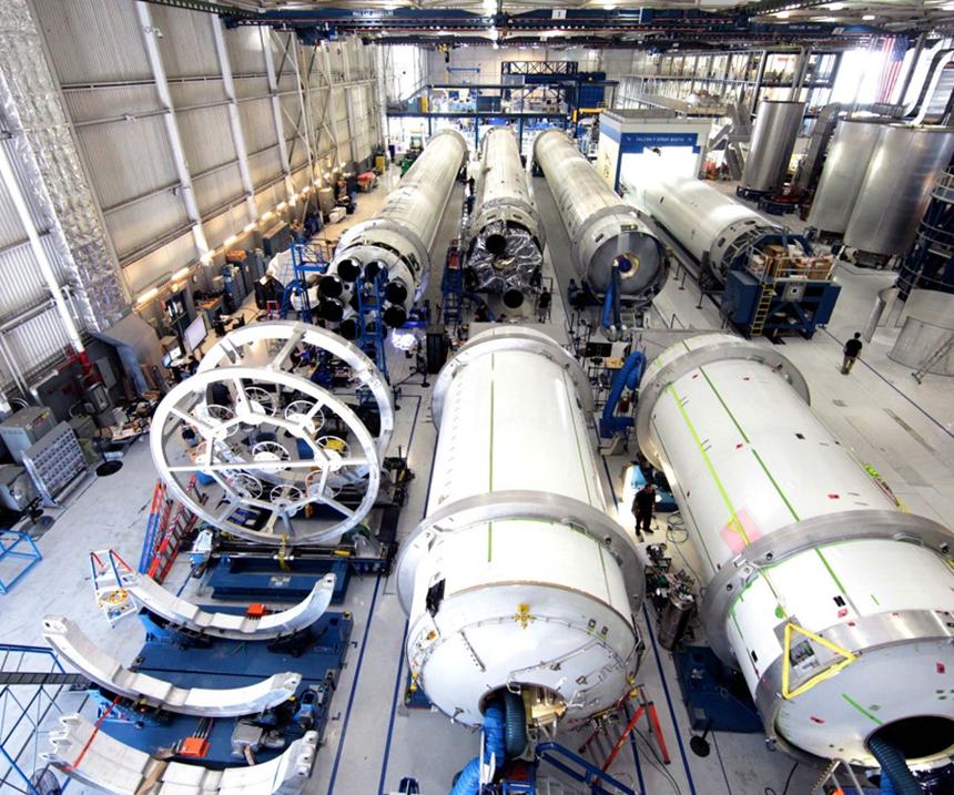 Los estados más avanzados en la industria aeroespacial en México son Baja California, Sonora, Chihuahua, Nuevo León y Querétaro.