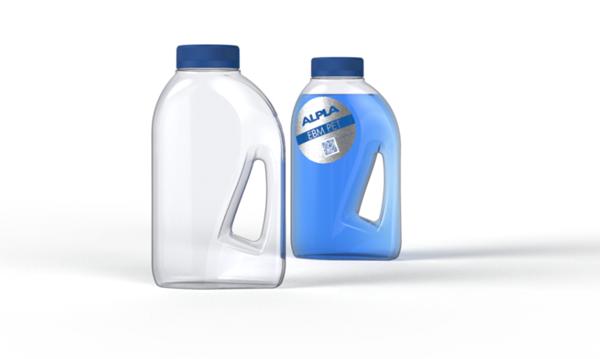 Envase de ALPLA que combina los beneficios del proceso de moldeo por extrusión-soplado y del PET