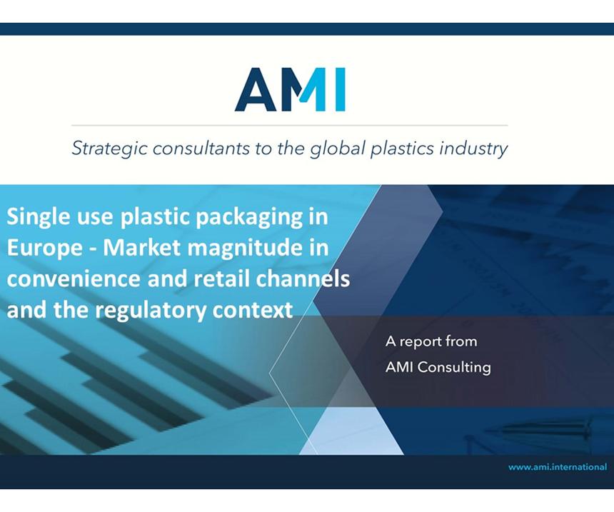 El informe de AMIexplora la escala de la conversión de envases, así como la magnitud de cada uno de los mercados de un solo uso.