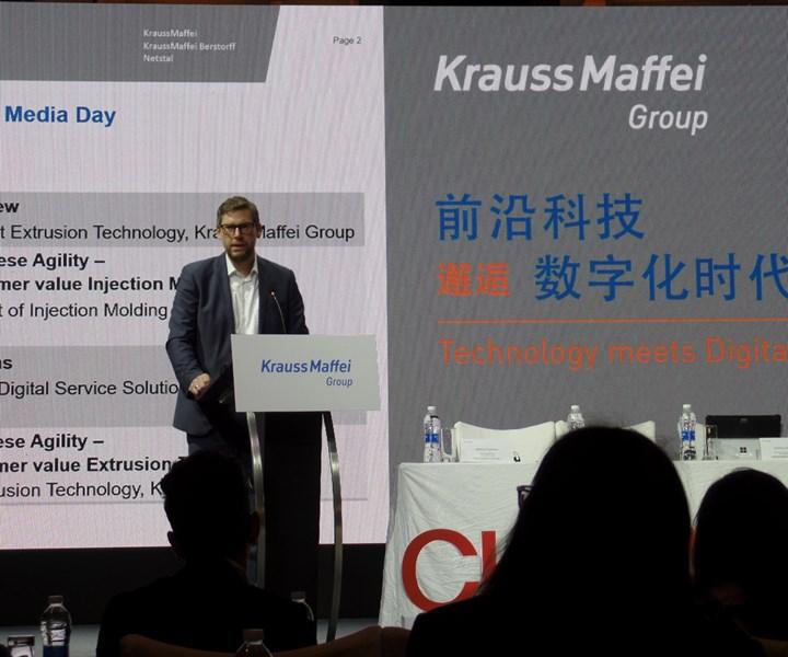 Presentación de KraussMaffei