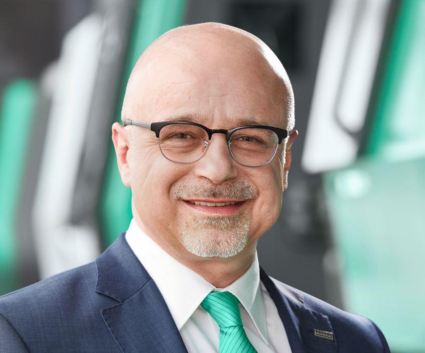 Dr. Christoph Schumacher, jefe de marketing y comunicaciones corporativas de Arburg.