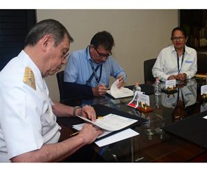 Firma convenio de colaboración entre el Centro de Investigación en Química Aplicada (CIQA) y la Secretaría de Marina.