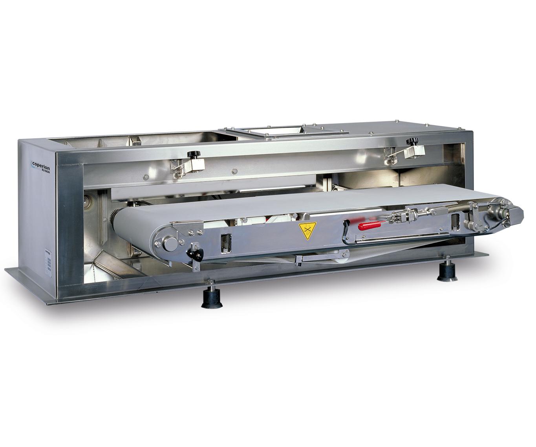El alimentador gravimétrico con banda de pesaje SWB-300 de Coperion K-Tron formará parte de una exhibición en la feria K 2019.