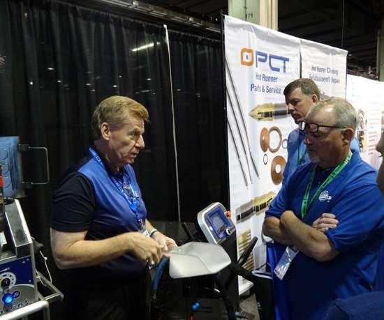 Steve Wilson, Global Business Unit Manager – Plastics, Rubber & Composites en Cold Jet.
