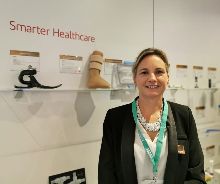 Jennifer Gemo, líder global de Mercadeo Estratégico, para el mercado de dispositivos médicos de Dupont.