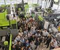 Open House de la marca de inyectoras estándar Wintec en las instalaciones de Engel en Querétaro.
