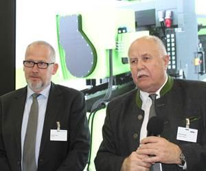 Michael Feltes, Wintec, y Peter Auinger, director general de Engel de México.