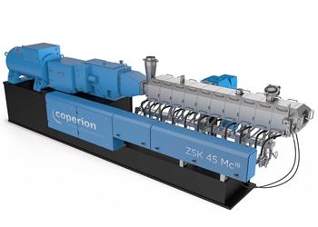 Extrusoras ZSK Mc18, de Coperion.