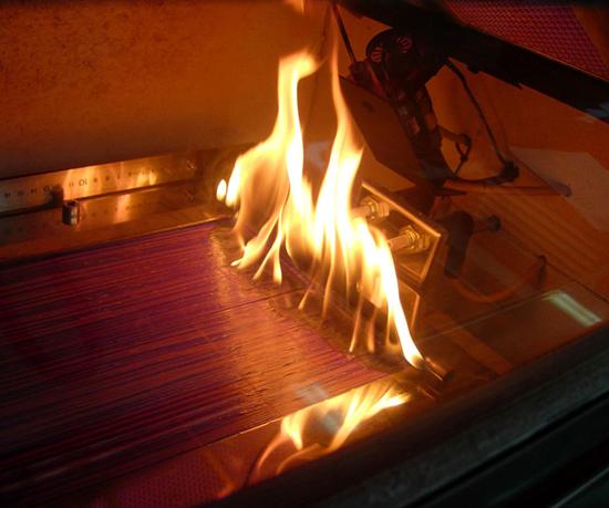 Una de las soluciones desarrolladas por el CIQA es la elaboración de bio-nanocompósitos a base de almidón termoplástico y vermiculita con propiedades mecánicas mejoradas que se comportan como un material semicristalino que puede ser utilizado como material resistente a la flama.