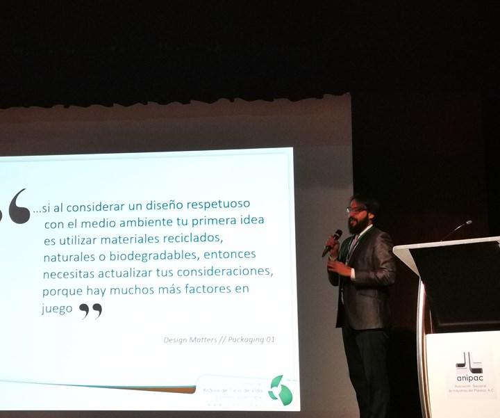Juan Pablo Chargoy, del Centro de Análisis de Ciclo de Vida y Desarrollo Sustentable