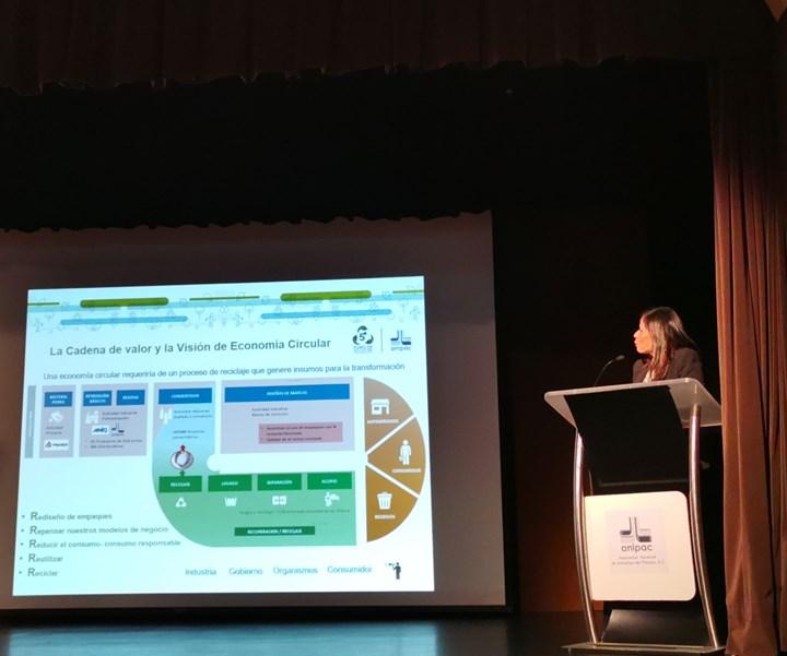 Mariana Albarrán, directora de Representación Institucional y Relaciones con Gobierno de Braskem Idesa/presidente de la Comisión de Ecología de laAnipac