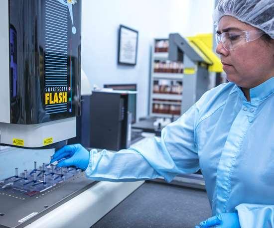 La fabricación de muchas piezas críticas para la seguridad en los sectores automotriz y médico significa que GW Plastics Querétaro debe realizar una inspección de su producción.