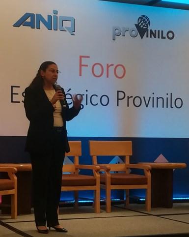 Ana Gamboa-Torres, directora asociada de Chlor-Alkali MAS de IHS Markit.