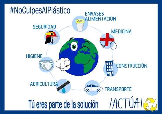 Campaña #Noculpesalplástico
