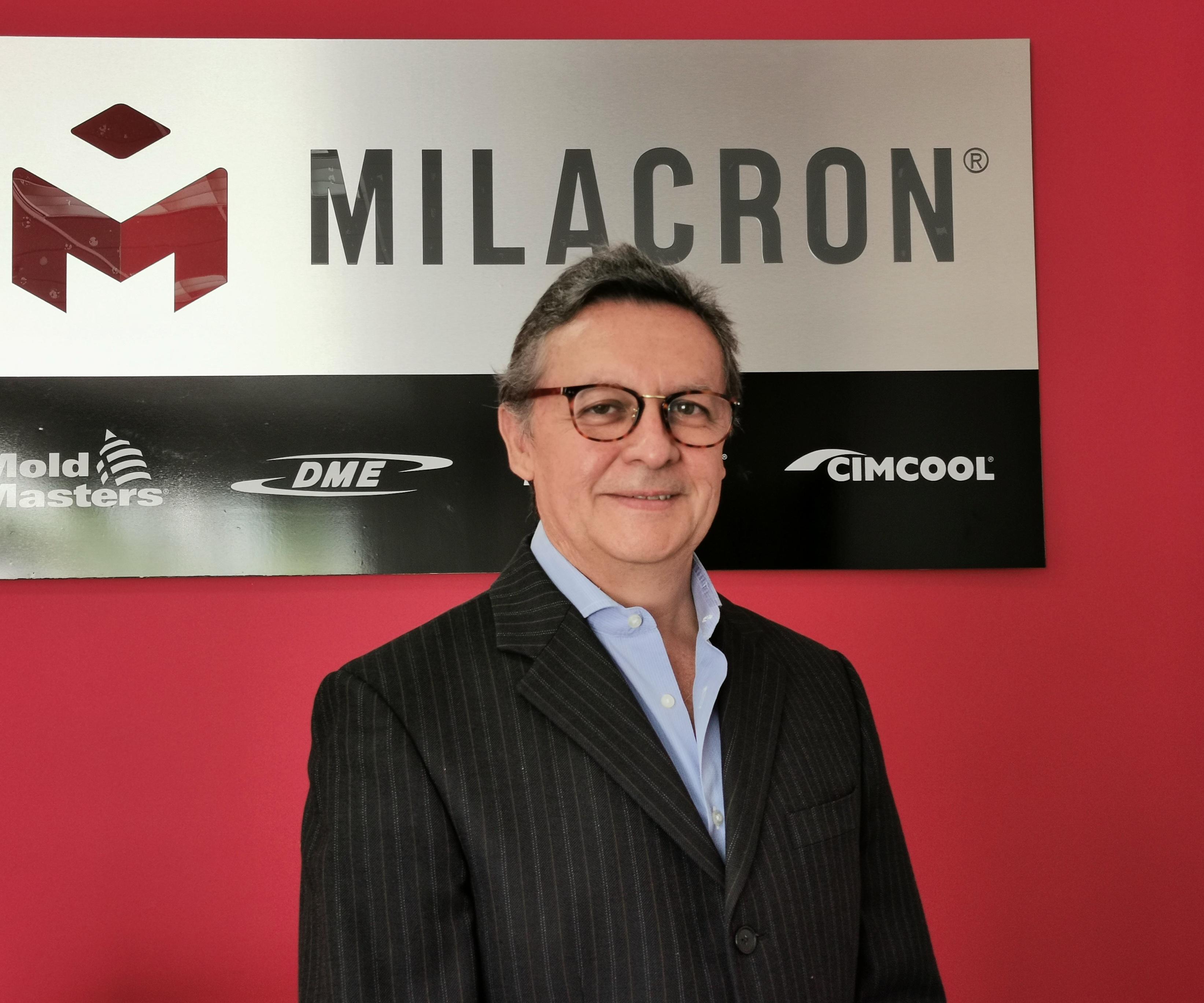 Juan Carlos González, director general de Milacron Mexicana.