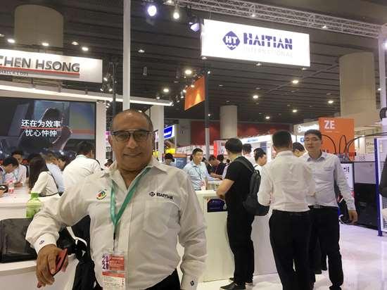 José Barroso, gerente comercial de Haitian en México, compartió en CHINAPLAST los planes de fortalecimiento de la empresa a 20 años de haber llegado al país.