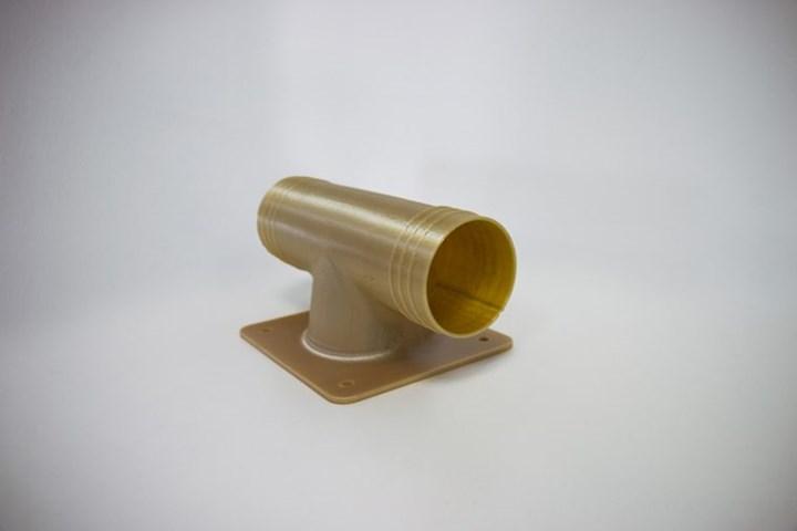 Marshall Aerospace and Defence Group utiliza piezas de conductos impresos en 3D, así como soportes para cuchillos de seguridad e interruptores para interiores de aviones