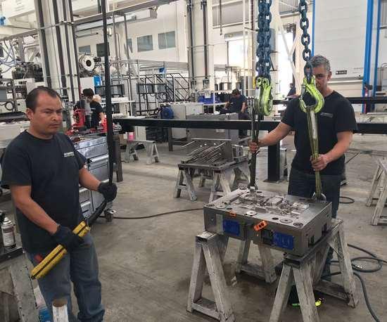 La instalación central de Integrity está dedicada al ensamble de moldes con 22 celdas de trabajo separadas.