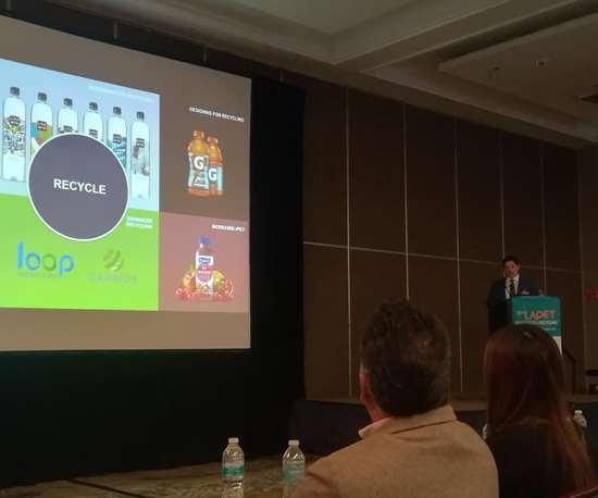 Steve Gibson, Director de I+D de Envases- Bebidas y Lácteos de PepsiCo.