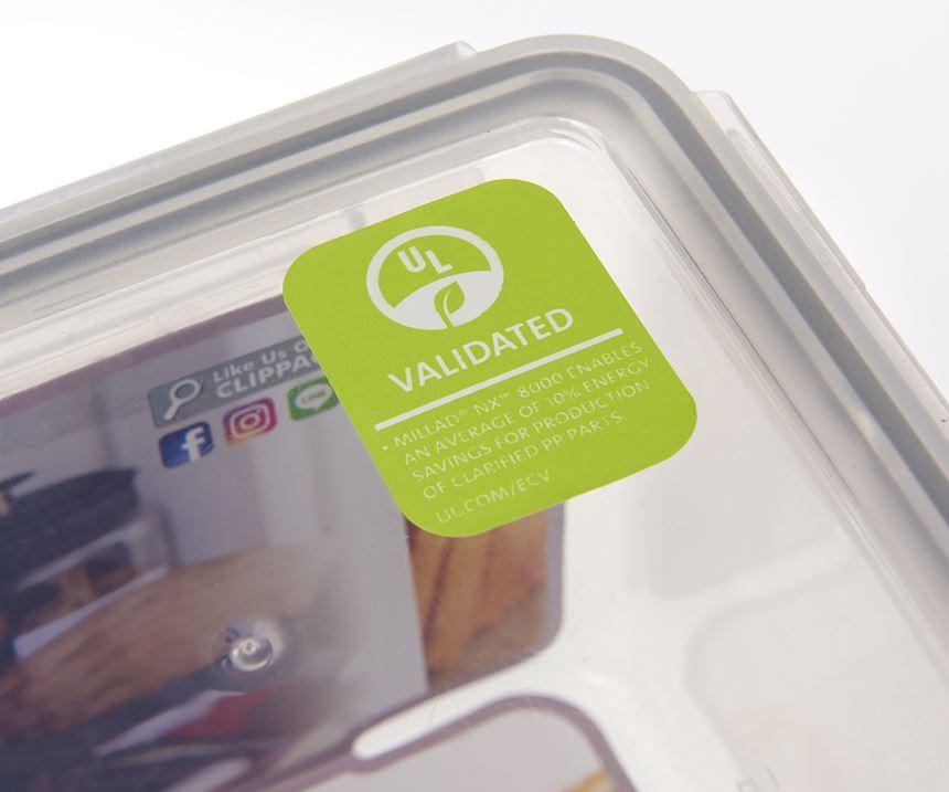 En Asia, los fabricantes de artículos del hogar adoptan el uso de etiquetas ecológicas de UL para productos de polipropileno fabricados con el clarificador Millad NX 8000 de Milliken