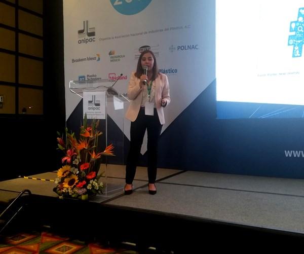 Natalia Ortega, directora editorial de Plastics Technology México