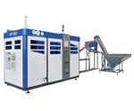 Máquina de moldeo por soplado automática APF-3002, de PET Technologies.