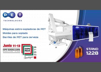 PET Technologieshablaráen Expo Pack Guadalajara de la flexibilidad y el concepto modular de la última generación de las máquinas de moldeo por soplado APF-Max.