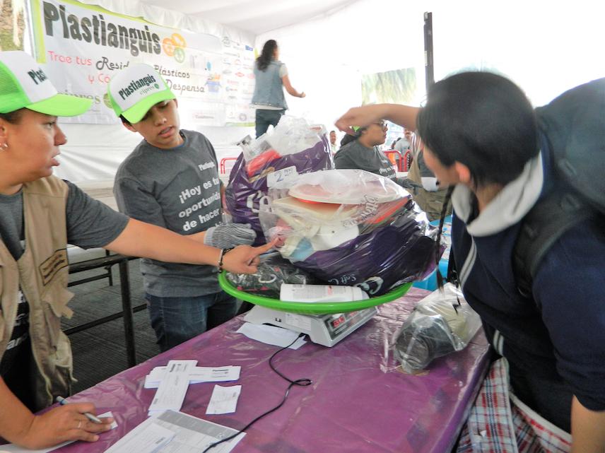 Cifras récord de acopio de plásticos durante el PLASTianguis 2019