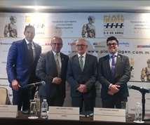 Alfredo Prince (Braskem Idesa), Aldimir Torres (Anipac), José Navarro (Tarsus México) y  Oswaldo Piña (AMEE)