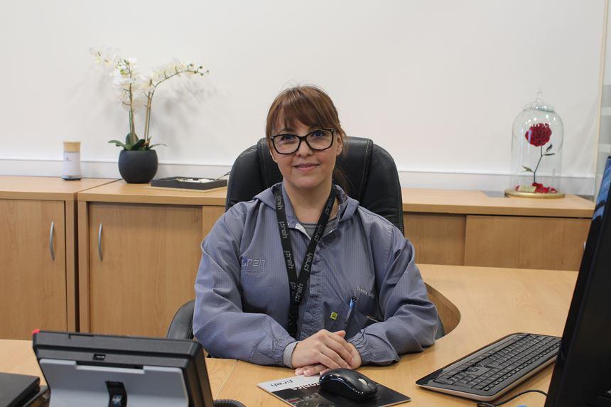 Ivonne Rodríguez, gerente de preproducciónen Phe México, lideró el proceso de mudanza a la nueva planta.