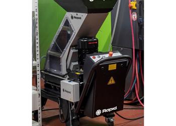 OneCUT PRO, molino a pie de máquina. Foto: Rapid Granulator, PR048.