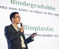 Más de 120 personas influyentes a escala global se reunieron para ver una presentación de RWDC sobreSolony su papel enla sustitución de los plásticos de un solo uso.