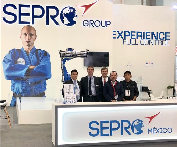 Equipo técnico y de ventas de Sepro México