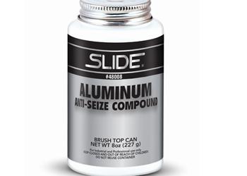 Compuesto antiadherente de aluminio, de Slide Products.