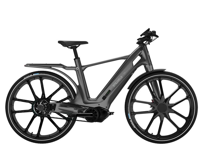 Bicicleta eléctrica de Stajvelo utiliza compuestos Xencor, de Solvay.
