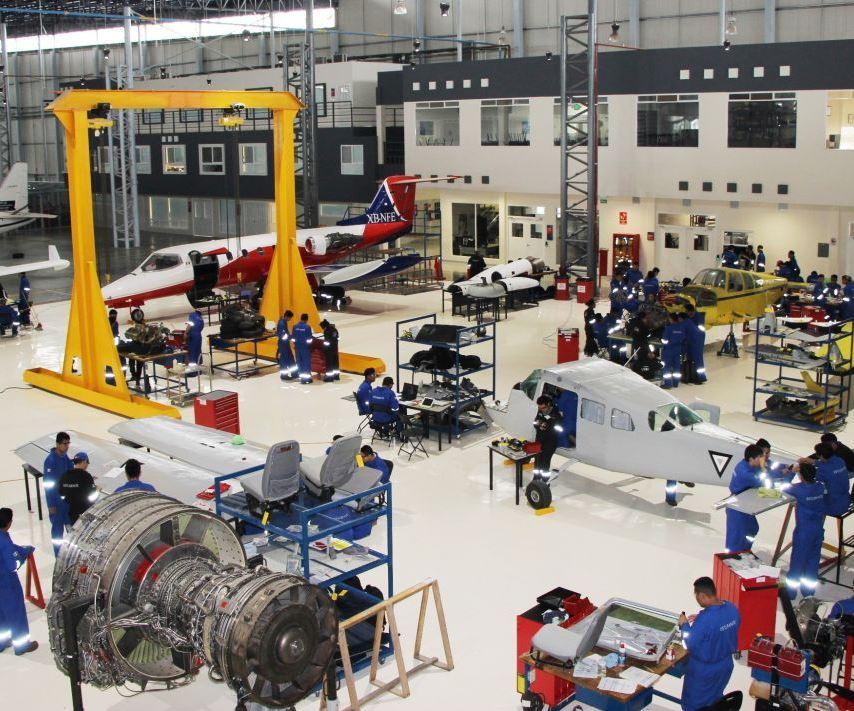 La originalidad del proyecto de losalumnos de la Universidad Aeronáutica de Querétaro (UNAQ) radica en que en el sector aeroespacial no existe evidencia de la utilización de material reciclado para la manufactura de partes aeroespaciales.