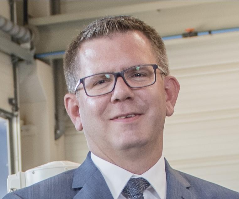 Arne Festerling, gerente de ventas en ENTEX Rust & Mischke.