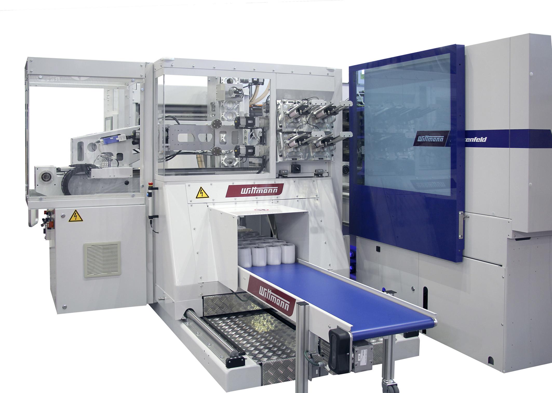 Solución de etiquetado IML de Wittmann Battenfeld, en Plastimagen 2019